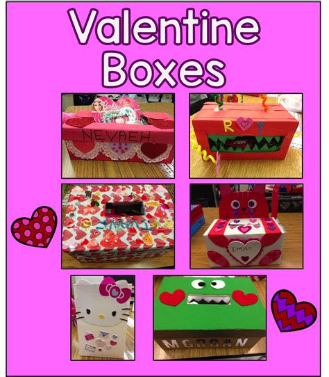 out of the box valentines day ideas s box project project free box and free