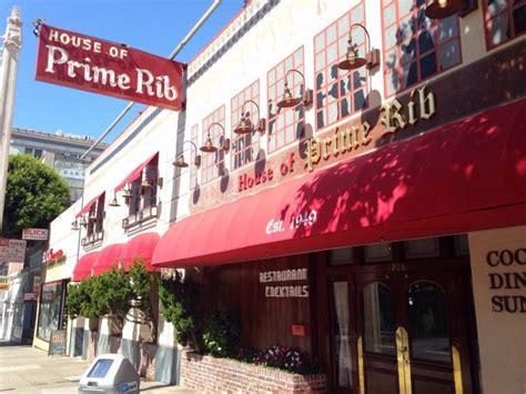 house of prime rib sf house of prime rib nob hill san francisco urbanspoon