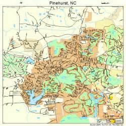 pinehurst carolina map 3751940