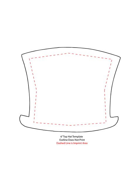 Top Hat Template For by 7 Best Images Of Top Hat Template Printable Snowman Top