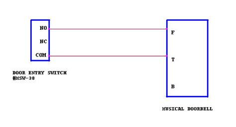doorbell diode type musical doorbell how to install the musical doorbell using a 9v battery