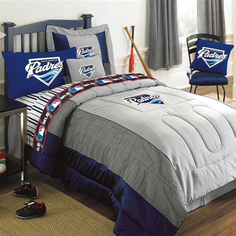 jersey comforter set san diego padres mlb authentic team jersey bedding twin