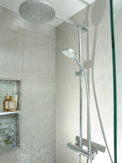 bathroom shower head ideas hansgrohe raindance showerhead ideas pictures remodel