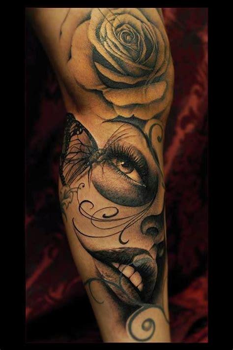 tatuaje en pierna ideas para tu proximo tattoo tatuajes