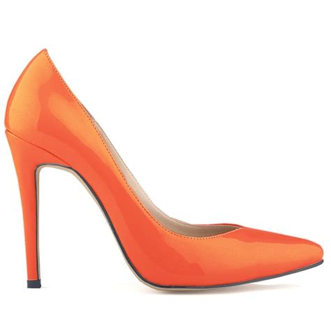 high heels orange high heels is heel