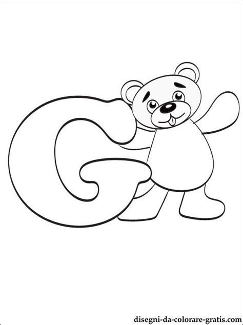 lettere dell alfabeto da colorare e stare gratis disegni da colorare lettera g disegni da colorare gratis