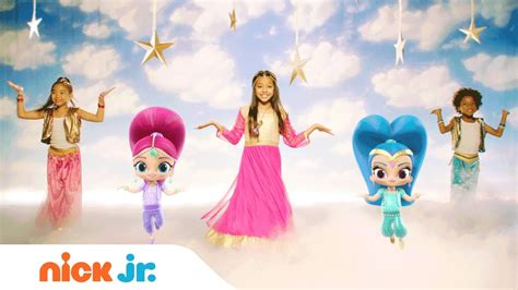 shimmer and shine l shimmer and shine magic carpet ride official music