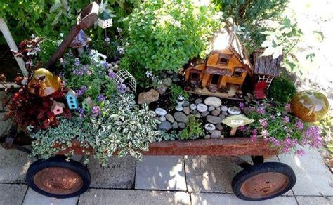 Create a fun fairy garden with Jean's new ideas   Flea Market Gardening