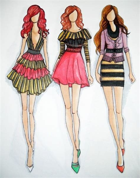 fashion illustration description 145 best fashion sketches images on drawing