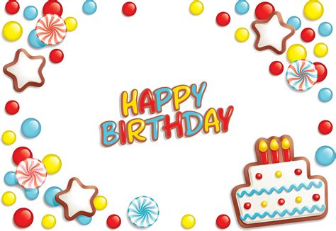 happy birthday happy birthday elements 02 vector free vector 4vector
