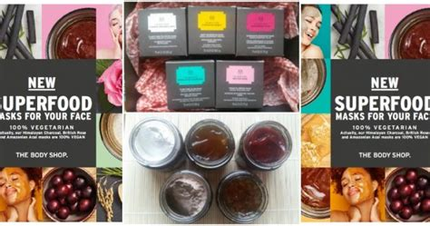 Multi Masking The Shop we try multi masking with the new shop superfood masks beaut ie
