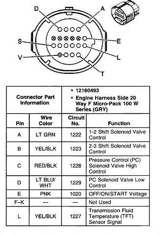 4l60e transmission wiring diagram free