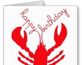 lobster birthday card popular items for crustacean on etsy