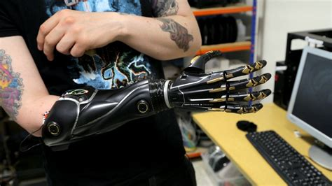 3d printing yourself a hand deus ex s bionic limbs are