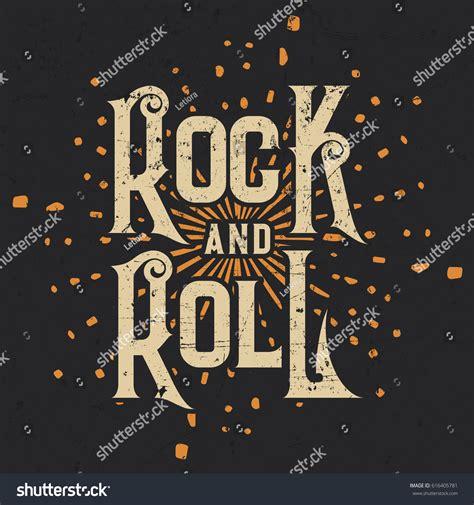 design t shirt rock vector rock roll tshirt graphic design vector stock vector