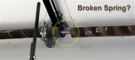 Garage Door Springs Repair Broken Garage Door Garage Door Repair Faq
