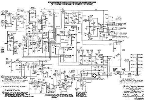 fender reverb ii wiring diagrams wiring diagrams