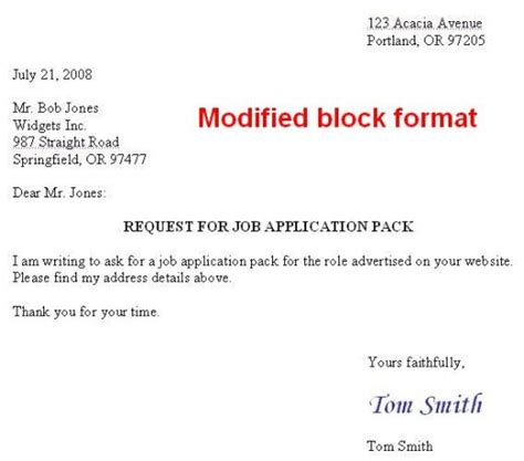 Block Style Business Letter With Envelope How To Format A Us Business Letter
