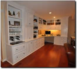 built cabinets: custom cabinets home office desk and built in cabinets inmclean va