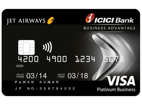 Jet Credit Application Form Jet Airways Icici Bank Business Advantage Card Smart Things To Goodreturns