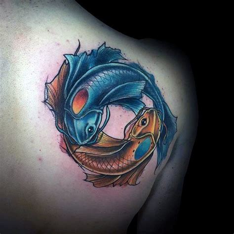 ying yang in koi fish style dejavu tattoo studio collection of 25 yin yang koi fish tattoo design