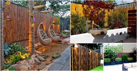 bamboo ideas for backyard 20 amazing bamboo fence ideas to beautify your outdoors