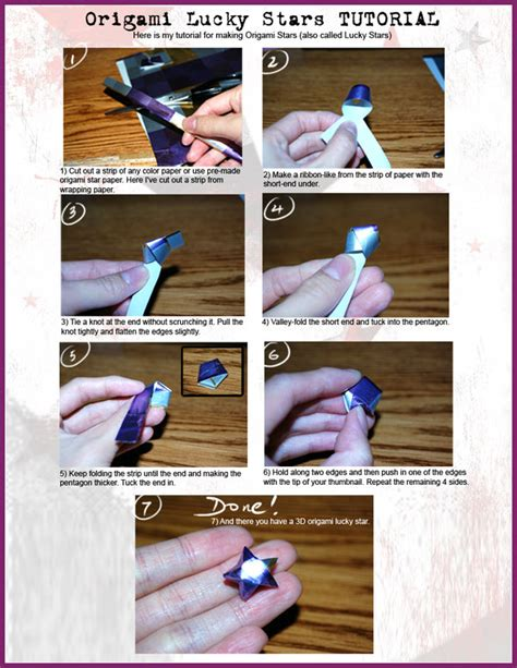 Origami Lucky Tutorial - tutorial origami lucky by sweetcivic on deviantart