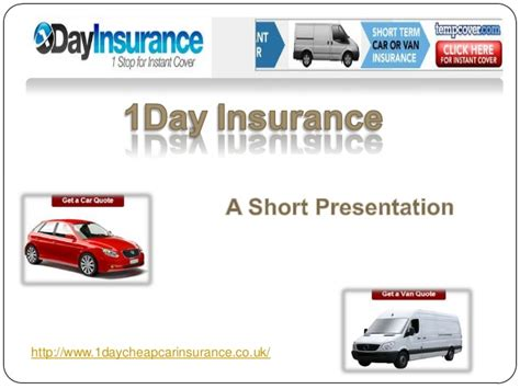 Cheap Car Insurance 1 Day by One Day And Term Insurance