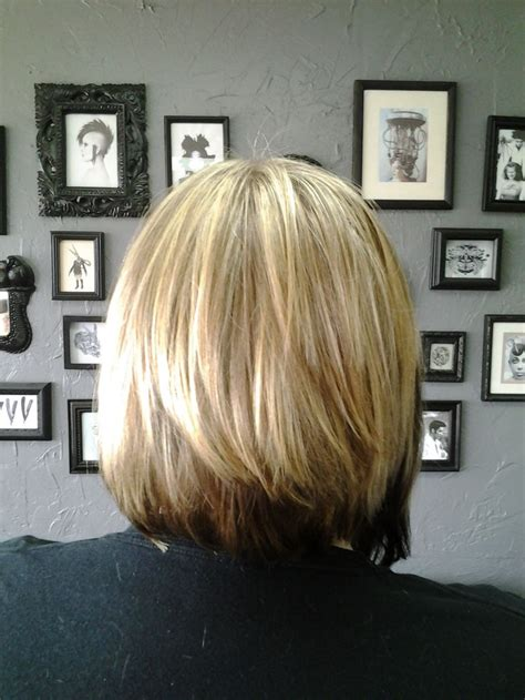 hairstyle with hair inversion in back pictures of the back of a layered bob bob haircut