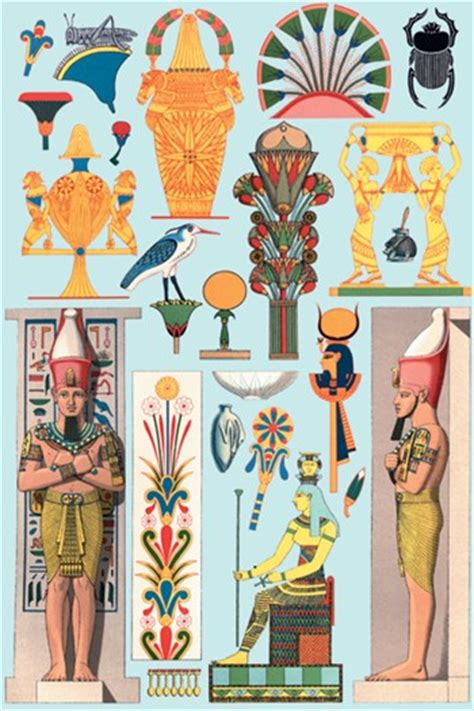 design art egypt egyptian design 1 fine art print egyptian art art