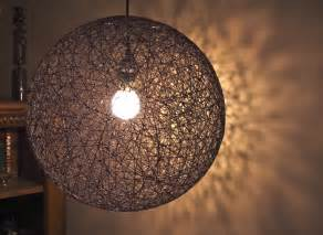 hanf beleuchtung items similar to hanging sphere string light 18 quot hemp