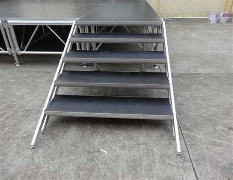 Pipe And Drape Ireland Aluminum Stage Platform With Stairs For Concert Event