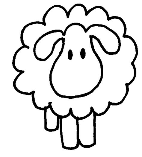 counting sheep coloring page clip art sheep clipart best