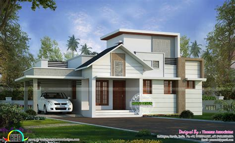 24 lakhs cost estimated one floor house kerala home