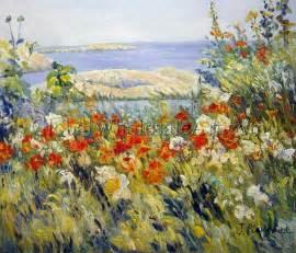 oil paintings global wholesale art childe hassam celia thaxter s garden oil paintings on