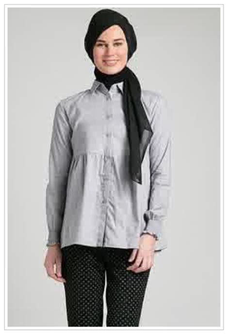 Hem Oscar Baju Wanita Bagus Murah 1 11 gambar model kemeja wanita muslim modern terbaru 2016