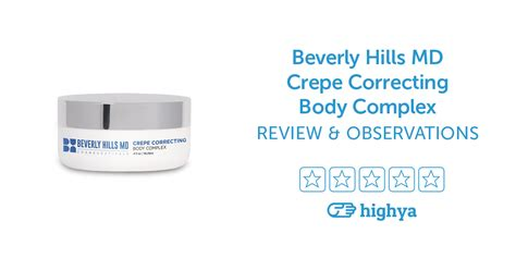 beverly hills md vein away reviews is crepe correcting body complex a scam