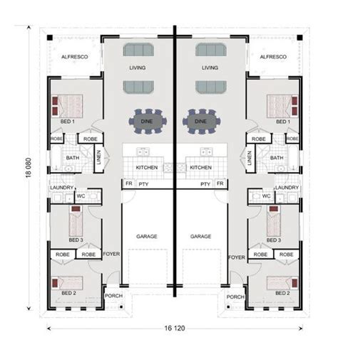 duplex floor plans australia house design home design and western australia on pinterest