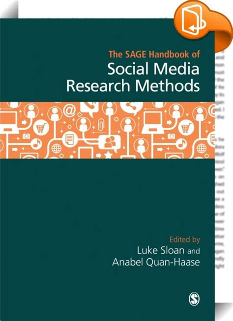 the handbook of social media books the handbook of social media research methods