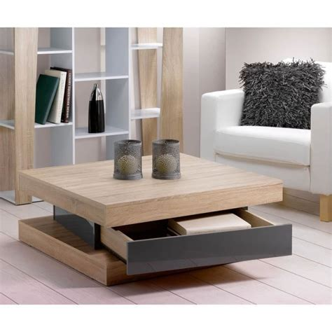 les concepteurs artistiques table basse de salon en bois