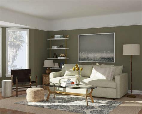 contoh warna cat ruang tamu  bagus desainid