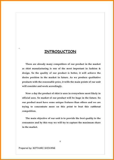 Healthcare Business Introduction Letter doc 600704 product template product