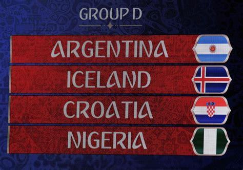 grupo d mundial 2018 grupo d mundial rusia 2018
