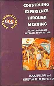 through it gleanings from a near experience books construing experience through meaning open linguistics