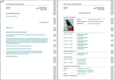 Lebenslauf Vorlagen Libreoffice Bewerbungsvorlagen F 252 R Libreoffice