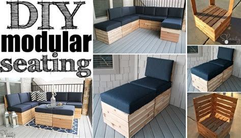 diy modular seating  plan home design garden