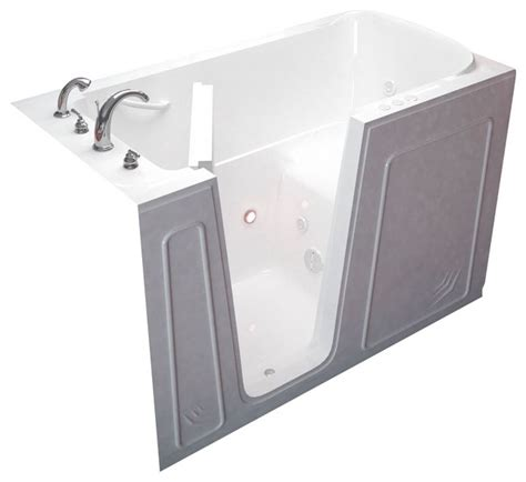 walk in bathtubs with jets meditub 32x60 whirlpool jetted walk in bathtub