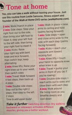 exercise tv start walking at home 3 with leslie