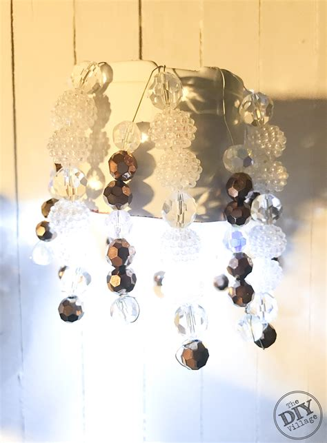 Mini Chandeliers For Lockers Diy Locker Chandelier For The Crafty The Diy