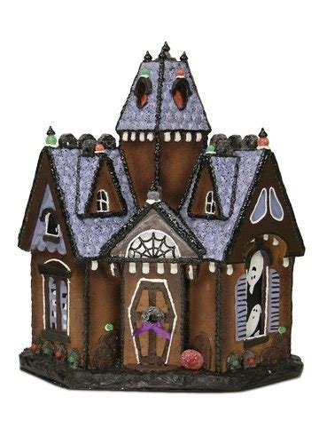 haunted gingerbread house kit byers choice quot spooky retreat haunted gingerbread house quot gingerbread houses